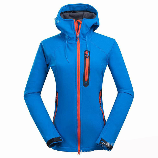 Winter Coat Female Hiking Skiing Trekking Jackets Women Sportwear Windbreaker Jackets Chaqueta Trekking