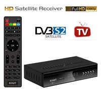 Koqit-Receptor satélite K1, decodificador DVB S2, sintonizador, Youtube, Iptv, m3u, servidor de Internet, reproductor multimedia