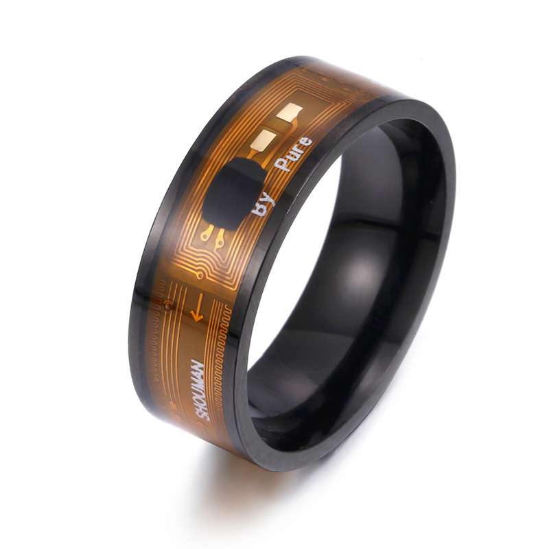 High Tech NFC Smart Rings Technology  Gadgets IC Stainless Steel Waterproof Mi Ni Super Cool LanLiFang Message Tag Transfer