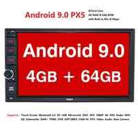 IPS OCTA Core Android 9 Doppel 2 Din 4G RAM 64G ROM Auto Multimedia NICHT DVD Player mit Bluetooth wiFi OBD DVR DAB +