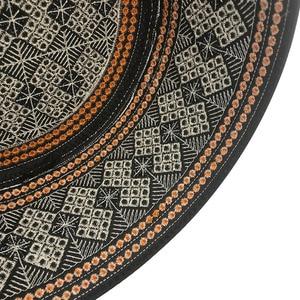 Image 5 - New Prayer Hats Cotton Embroidery Islamism Muslim hat Islam Arabic India Jewish Hat Saudi Arabia Hats for men Headscarf Clothing