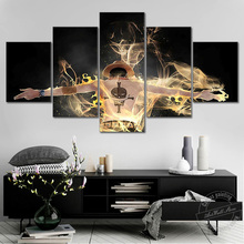 No Frame Pictures One Piece Anime Poster Ace Wall for Living Room Decor Canvas Art Cartoon Painting Birthday Gifts