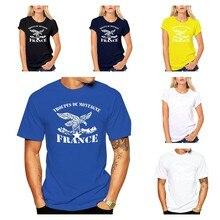 France Troupes De Montagne Chasseurs Alpins Brigade De Montagne L'armée 2020 Nouveaux Hommes T-shirt D'été Pour Hommes Style T-Shirt Décontracté Freestyle