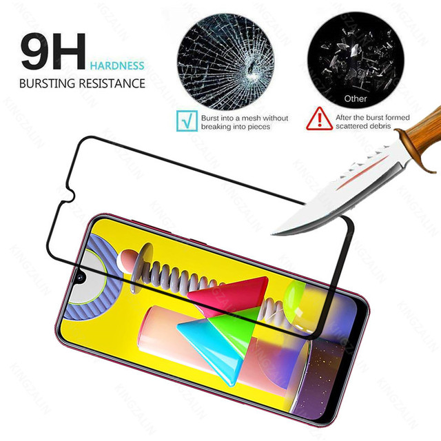 2 in 1 camera lens protective glass for samsung galaxy m31 m30 s m51 m21 m11 m12  screen tempered glass for samsung m30 m31 m21s 4