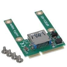 Convertisseur adaptateur Mini Pcie vers USB 3.0 USB3.0 vers Mini carte Pci E PCIE Express