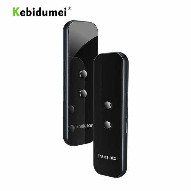 Kebidumei G6 スマート音声翻訳デバイス電子 3 で 1 音声/テキスト/写真のための 40 + 言語翻訳 IPhone アンドロイド