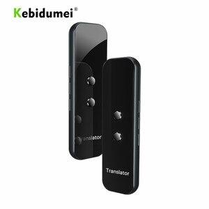 Image 1 - Kebidumei G6 traducteur vocal intelligent dispositif électronique 3 en 1 voix/texte/photographique 40 + traducteur de langue pour IPhone Android