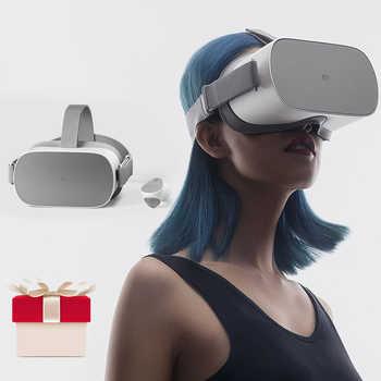 Xiaomi Gafas originalesVR juego de realidad Virtual 3D para auriculares de teléfono 4,7-5,7 Xiaomi Mi VR Play2 con controlador d