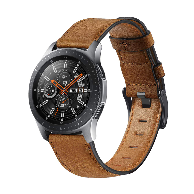 Huawei Watch GT 2 Band For Samsung Galaxy Watch 46mm Gear S3 Strap Amazfit GTR 47mm Genuine Leather Bracelet Belt Accessories