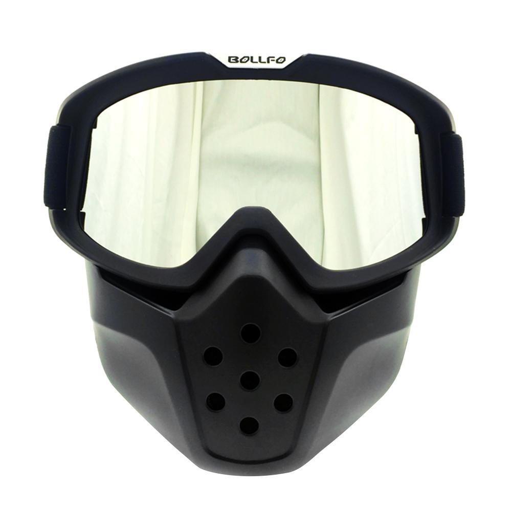 Outdoor Cycling Goggles Glasses Retro Mask Mirror Windproof Eye Protection Scrambling Motorcycle Racing Car Supplies