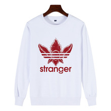 New Street Brand Stranger Things O-Neck 100%Cotton Sweatshirt Women Funny Strange DEMOGORGON Women's Pullover Plus Size Clothing