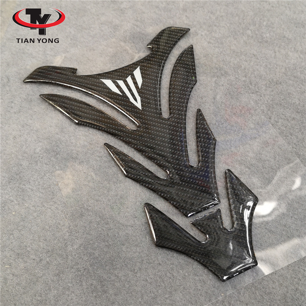Motorcycle For Yamaha MT01 MT03 MT09 MT10 MT-09 Tank Sticker Tank Pad Protector High Quality Tankpad 3D Resin Decal(China)
