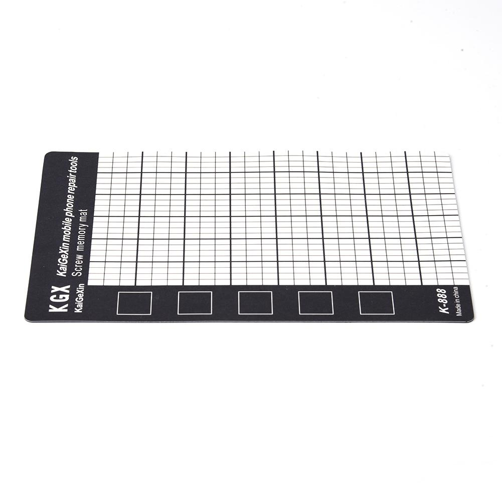 Magnetic Screw Mat Magnetic Working Pad Memory Chart Work Pad Mobile Phone Repair Tools 145 X 90mm Hand Tool Set