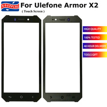 5 5 #8222 ekran dotykowy do telefonu osłona ulefone X2 ekran dotykowy ekran dotykowy panelu szklanego dla osłona ulefone X 2 Digitizer Sensor tanie tanio KOSPPLHZ For Ulefone Armor X2 ≥5 black