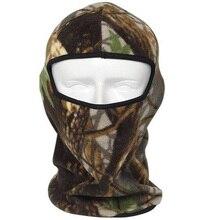 Cycle Fishing Ski Balaclava Speed Thermal Winter Warm Masks Hoods Motorcycle fleece polyester men camou Mask Facial