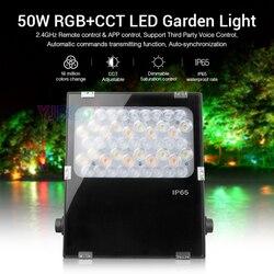 Miboxer 50W RGB + CCT LED Garten Licht FUTC06 Grün raum/Park/straße/dekoration smart Outdoor licht lampe AC100 ~ 240Vwaterproof IP65