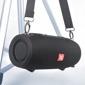 Portable wireless Speaker Super BASS shockproof High power Mini TG118 20w Bluetooth Column Subwoofer Music Center System BoomBox