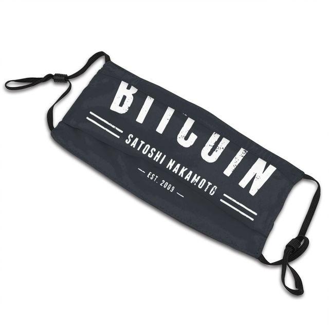 Bitcoin Original Satoshi Crypto Non-Disposable Face Mask 5