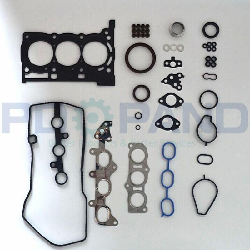 1 Kit de joint de reconstruction de révision de moteur KRFE 1KR-FE 04111-0Q016 pour Toyota AYGO YARIS/VITZ VIOS 1.0 998cc