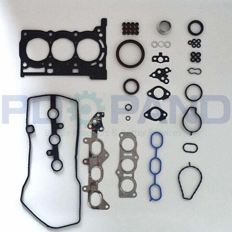1KRFE 1KR-FE La Ricostruzione di Revisione del Motore Guarnizione Kit 04111-0Q016 per Toyota AYGO YARIS/VITZ VIOS 1.0 998cc