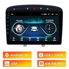 Para Peugeot 308 308SW 408 RCZ 2010-2016 la unidad GPS estéreo navegación 9