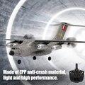 Гоночный Электрический радиоуправляемый самолет игрушка C17 Aerotransport самолета 2 4 г 3CH 300M 6Axis Gyro 50 см Большой EPP Дистанционное Управление игруше...