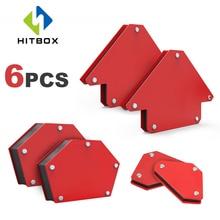 Magnet-Holder-Set Welding-Positioner HITBOX 9lbs 25lbs 6pcs Multi-Degrees 30/45/90-/..