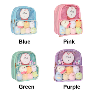 Image 5 - Ita Bag Backpack Clear Transparent Women Diy Bag Ladies Transparent Backpack Teenage Girls Lovely Lolita bag Itabag 7 colors