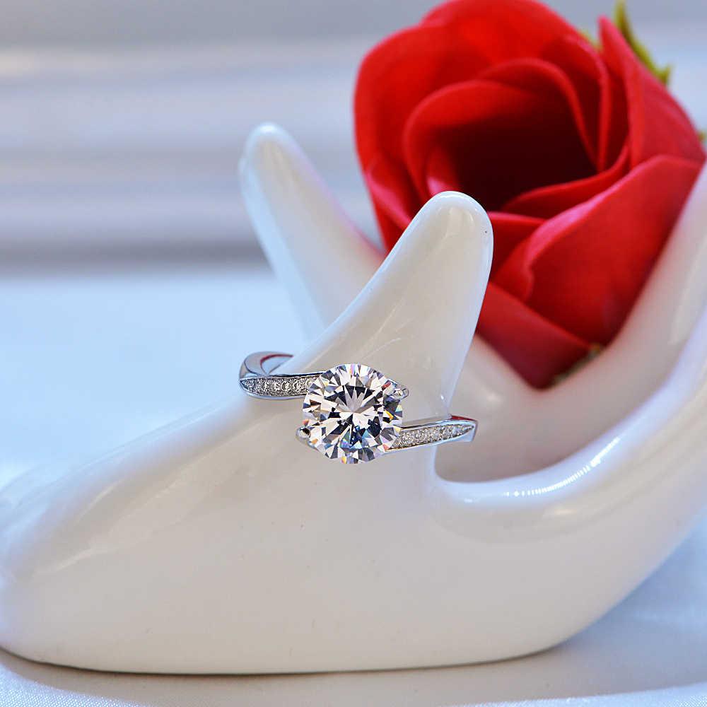 טרנדי אבני חן כסף טבעת אמטיסט כחול ספיר טבעת כסף 925 תכשיטי תרשיש טבעת עבור נשים Cocktaill אירוסין טבעות