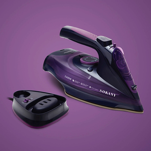 Steam Iron 5 Speed Adjust Cord