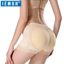 IEMUH Plus Size Women Butt Booty Lifter Shaper Bum Lift Pants Buttocks Enhancer Boyshorts Briefs Safety Short Pants(China)