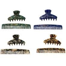 Женские заколки для волос с гребнем 2 шт