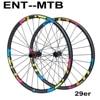 ELITEWHEELS 29er MTB węglowe koła Ultralight 28mm szerokość 24 głębokości górskie obręcze rowerowe M11 prosto ciągnąć piasty węglowe koła et