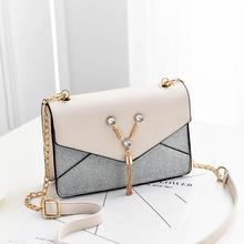 Fashion Small Crossbody Bags For Women 2020 PU Leather Shoulder Bag Messenger Bag For Girl Yellow Bag Ladies Phone Purse annmouler women shoulder bag high quality leather purse star patchwork messenger bag small zipper crossbody bag for ladies