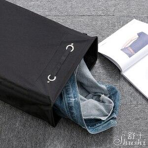 Image 4 - Shushi hotselling składany kosz na pranie wodoodporny wielofunkcyjny narożnik szczupły kosz na pranie brudny pojemnik na ściereczki kosz