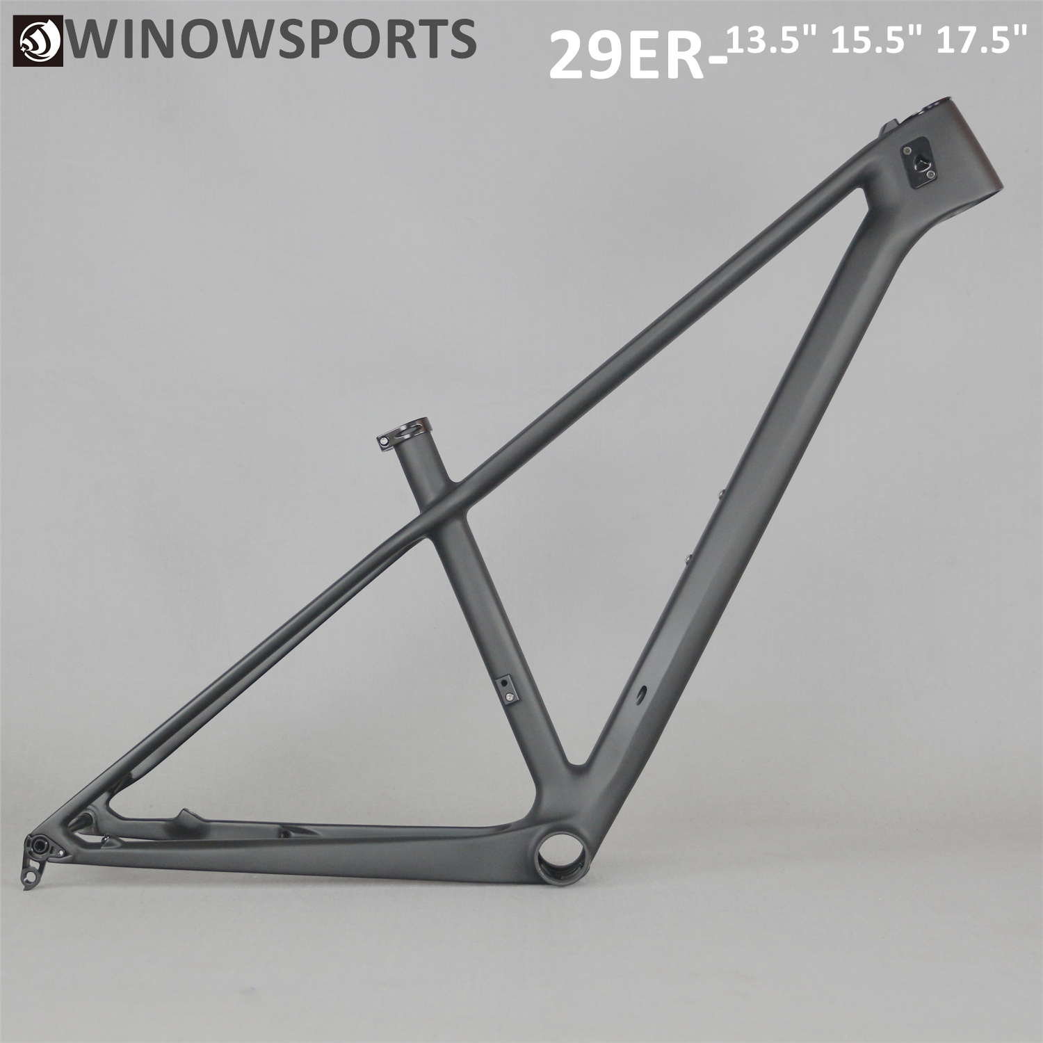 2019 Nwe 29er Racing Carbon Mtb Bicycle Frame T800 Carbon Mtb Frame Bike Carbon Frame UD Matt Accept Customized Painting