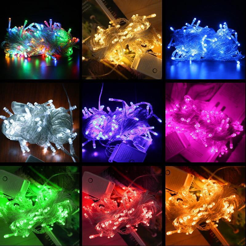 Lowest Price10M LED Christmas Garland Wire LED String Lamp Fairy Lights For Indoor New Year Xmas Wedd AC 220V/110V Outdoor Light