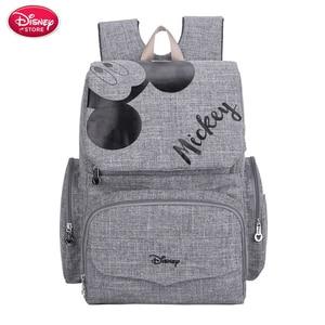 Image 2 - Disney Mummy Diaper Bag Maternity Nappy Nursing Bag for Baby Care Travel Backpack Designer Disney Mickey Minnie Bags Handbag