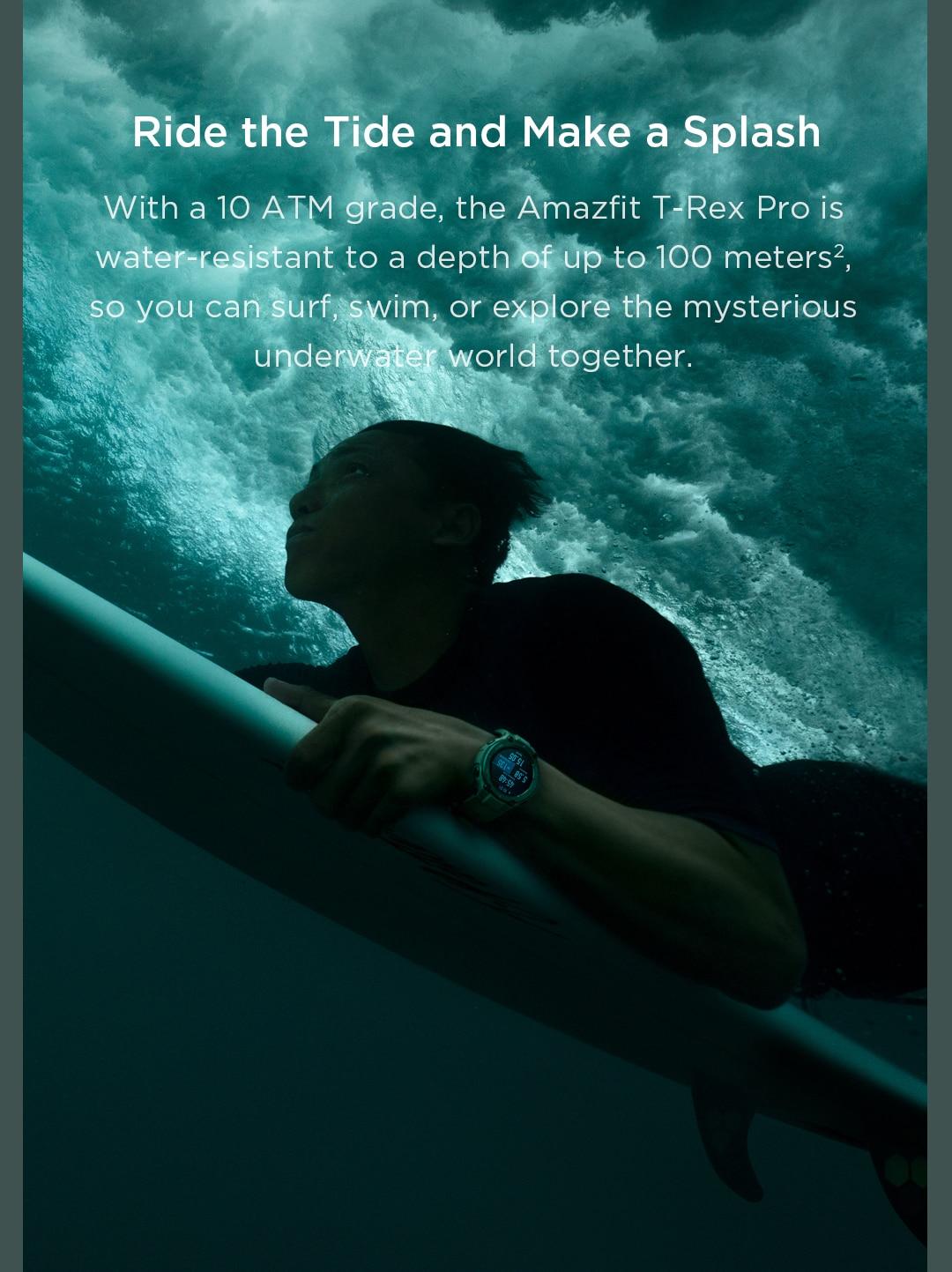 Amazfit T-Rex Pro Smartwatch 10