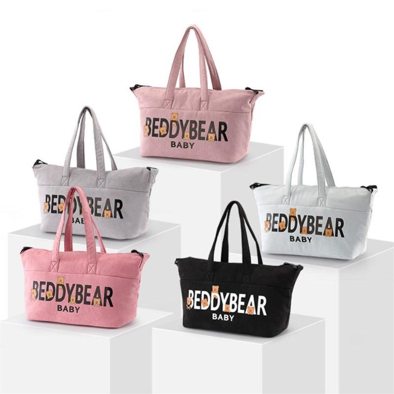 BEDDYBEAR-sac pour maman multi-fonction | Sac à couches mode diagonale, sac à bretelles, sacs pour femmes enceintes, paquet pour maternelle et enfant