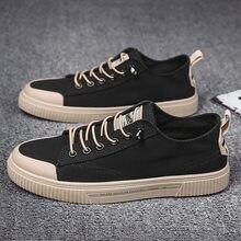 Low top canvas shoes, breathable men's shoes, fashionable shoes, versatile shoes, fashionable board shoes, Korean casual shoes