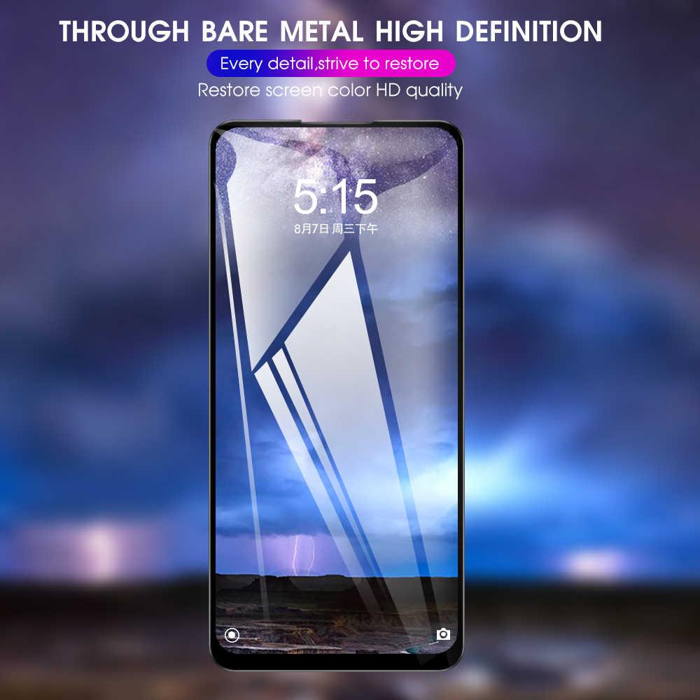 9H 9D الزجاج واقية ل شاومي Redmi 10X 5 جرام نوت 9 9pro ماكس K30 POCO X2 حامي الشاشة السلامة الزجاج المقسى 10x5 جرام فيلم
