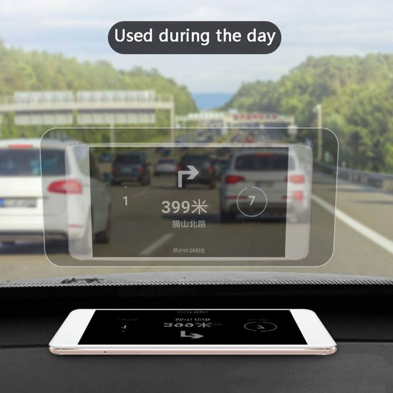 Hot Universal Car Head Up Display Reflective Film Premium Quality And High Definition Transparent Film