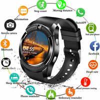 Sport hommes montre intelligente carte Sim Android caméra arrondi réponse appel cadran appel Smartwatch hommes fréquence cardiaque Fitness Tracker PK X6 A1