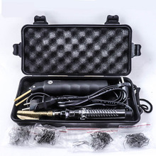 Профессиональный Горячий степлер, пластиковая Ремонтная система, сварочный пистолет, бампер, обтекатель, инструмент для кузова автомобиля, пластиковый сварочный степлер, паяльник