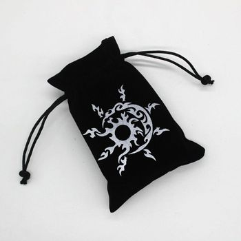 Tarot Storage Bag Velvet Playing Card Drawstring Package Board Game Dice Bag