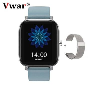 P8 PRO Bluetooth appel montre intelligente hommes pleine touche Fitness Tracker tension artérielle horloge intelligente femmes GTS Smartwatch pour Xiaomi IOS