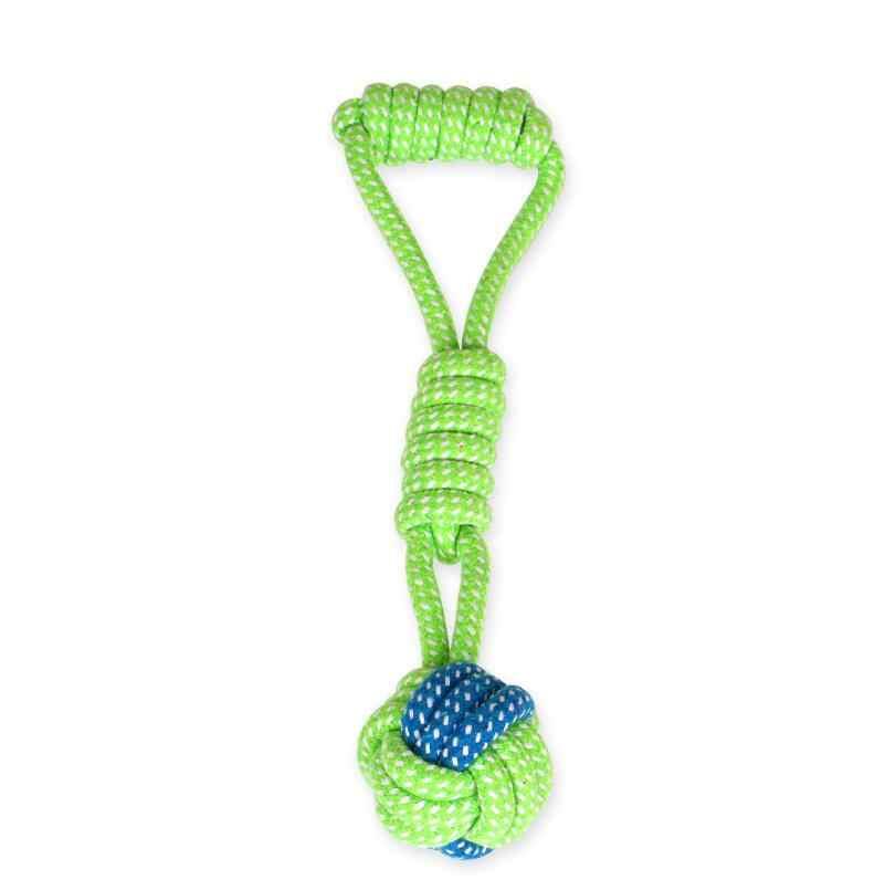 Juguetes blandos para mascotas juguetes para masticar perros juguetes de algodón cuerda de algodón Durable juguetes para masticar juguetes de dentición para cachorro pequeño a mediano