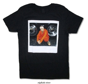 Eminem Wheels Mens Black T -Shirt New Official Adult discout hot new fashion t shirt top free shipping officia(China)
