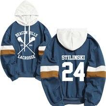 Толстовка мужская stilinski 24 lahey mccall пуловер толстовка